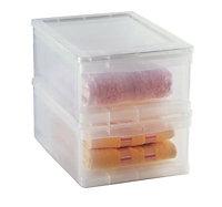 Boîte de rangement Kristal 8L transparente