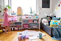 Boîte de rangement transparent avec 6 compartiments Smartstore Colour