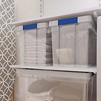 Boîte en plastique Xago transparent 24 L (M)