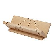 Boîte à onglet en bois pour corniche