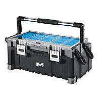Boîte à outils cantilever en plastique Mac Allister 57 cm