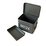 Boîte à pharmacie métal gris Cooke & Lewis petit modèle