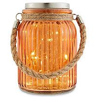Bocal solaire LED Blooma orange IP44