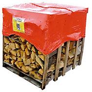 Bois de chauffage 600 kg bûches de 50 cm