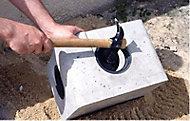 Boite à eaux pluviales allégée en béton 25 x 25 cm