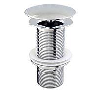 Bonde champignon 100 mm pour vasque sans trop-plein Diall