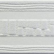 Bordure adhésive vinyle expansé Gilia GoodHome blanc