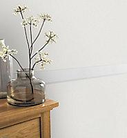 Bordure adhésive vinyle expansé Molis GoodHome blanc
