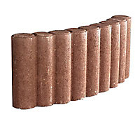 Bordure colonnade courbe ocre