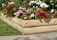Bordure à planter Blooma 100 x h.18/40 cm
