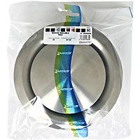 Bouche d'aération réglable inox Ø 125mm