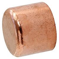 Bouchon à souder pour tube cuivre Ø14, lot de 2