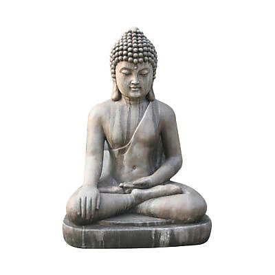 Bouddha Assis 75cm Pierre Castorama