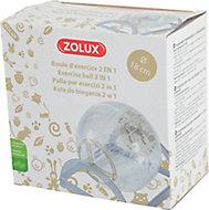 Boule d'exercice 2 en 1 Zolux ø18 cm