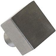 Bouton de meuble inox COLOURS Rio chromé mat Ø24 mm