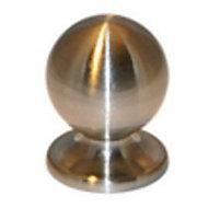 Bouton de meuble métal COLOURS Nagae chromé mat Ø20 mm