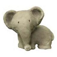 Bouton de meuble résine Colours Safari éléphant gris