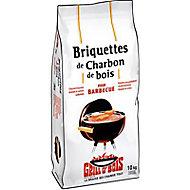 Briquettes de charbon bois GRILL O'BOIS 10kg