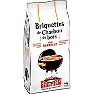 Briquettes de charbon de bois GRILL O'BOIS 4kg