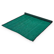Brise vue tissé vert 10 x h.1,5 m