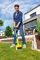Brosse de terrasse électrique FILAIRE Multibrush Gloria + aérateur de gazon offert + kit nettoyeur de joint