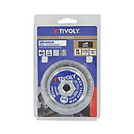 Brosse meuleuse de décapage du métal ronde Tivoly