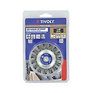Brosse meuleuse de décapage intensif disque Tivoly