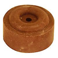 Butoir ø30 x Hauteur 15 mm caoutchouc rouge