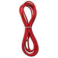Câble d'alimentation de 4 mètres Diall tissu rouge
