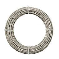 Câble en inox Diall ø3 mm, 10 m