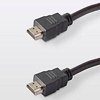 Câble HDMI Mâle / Mâle noir Blyss, 1.5 m