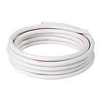 Câble électrique flexible H05VVF 2x1,5mm² Blanc - 25m