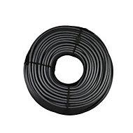 Câble électrique flexible H05VVF 3x1,5mm² Noir - 50m