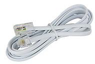 Câble plat RJ11 / RJ45 Mâle / Mâle Blyss, 2 m