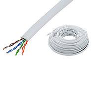 Câble plat RJ45 à sertir Erard 25 m