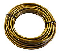 Câble plat TIBELEC 2 x 0,5 mm² 3m or