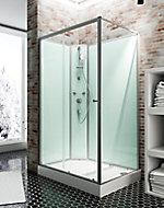 Cabine de douche intégrale, Ibiza Schulte, 120 x 80 cm, ouverture gauche