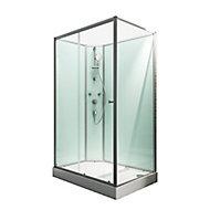 Cabine de douche intégrale, Ibiza Schulte, 120 x 90 cm, ouverture gauche