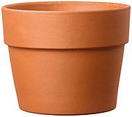 Cache pot rond terre cuite Perfetto Cotto ø20,1 x h.16,3 cm
