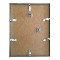 Cadre photo aluminium argent brillant Accent 21 x 29,7 cm
