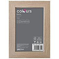 Cadre photo effet chêne Colours Erina 10 x 15 cm