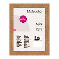 Cadre photo effet chêne Colours Matsuoka 30 x 30 cm