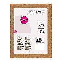 Cadre photo effet chêne Colours Matsuoka 30 x 40 cm