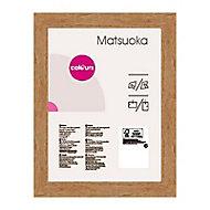 Cadre photo effet chêne Colours Matsuoka 50 x 70 cm