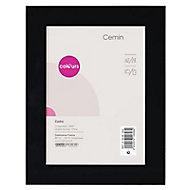 Cadre photo noir Colours Cemin 21 x 29 cm, ép.25 mm