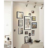 Cadre photo noir Colours Érina 18 x 24 cm