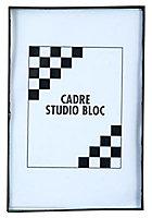 Cadre photo noir Gallery 13 x 18 cm
