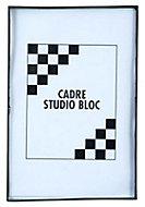 Cadre photo noir Gallery 21 x 29,7 cm