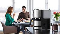 Cafetière 10 tasses Braun KF 5105 noir inox