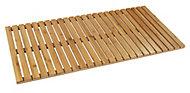 Caillebotis de baignoire en bambou 100 x 50 cm
